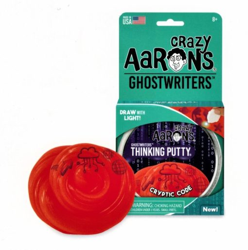 Cryptic Code Putty, crazy Aarons, thinking putty, ghostwriters, kneed gum, wonderzolder.nl