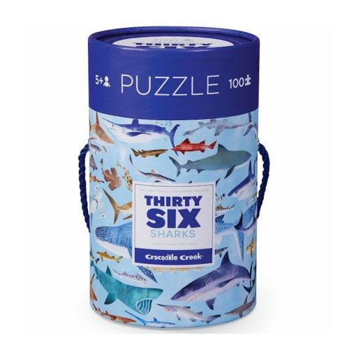 36 haaien puzzel, thirty six puzzle, crocodile creek, vlinder liefhebbers, wonderzolder.nl