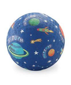 bal groot ruimte, crocodile Creek, space ball, ball, natuur rubber, natuurrubber, wonderzolder.nl