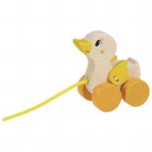 trekeendje, Duck, pull along animal, pul along dog, goki, trek eendje, wonderzolder.nl