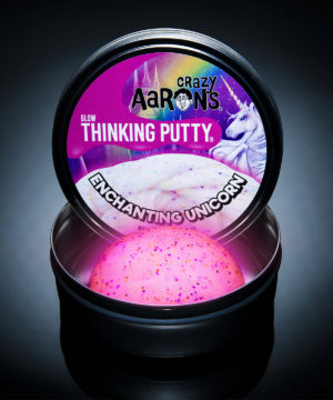 Enchanting Unicorn putty, thinking putty, hyper color putty, eenhoorn, crazy Aarons, wonderzolder.nl