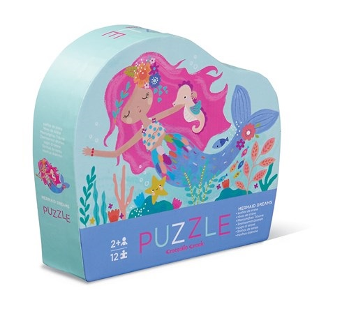 Puzzel mermaid dreams, zeemeermin, puzzel, puzzle, crocodile creek, wonderzolder.nl