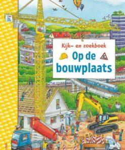 Kijk en zoekboek op de bouwplaats, deltas, zoekboek, bouwvoertuigen, wonderzolder.nl