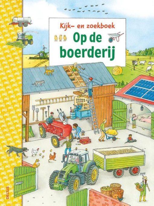 Kijk en zoekboek op de boerderij, deltas, zoekboek, boerderij leven, wonderzolder.nl