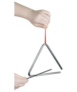 triangel groot, goki, muziek maken, muziekinstrument, wonderzolder.nl