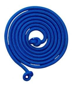 5 meter lang springtouw blauw, goki, buiten spelen, touwtje springen, wonderzolder.nl