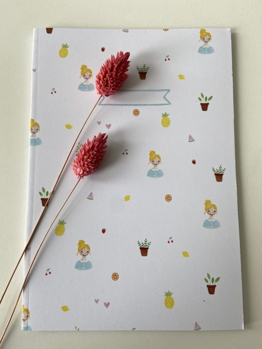 schrift ananas, Carmens tekentafel, kleuterjuf, cadeaupakket, wonderzolder.nl
