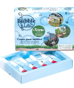 BubbleLab navulling 10 liter, meterslange bellen, navulling, wonderzolder.nl