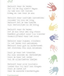 kleuterjuf, cadeau pakket, einde schooljaar, lentezoet, wonderzolder.nl