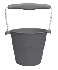 Scrunch Bucket Charcoal , opvouwbare emmer, grijs, scrunch, wonderzolder.nl