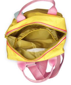 zipper yellow engel punt wonderzolder