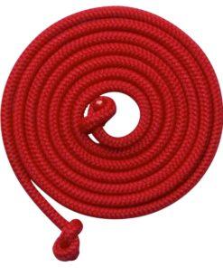 5 meter lang springtouw rood, goki, buiten spelen, touwtje springen, wonderzolder.nl