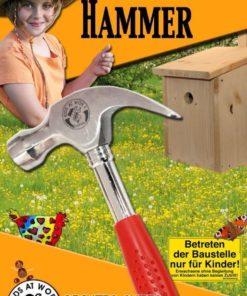 kleine klauwhamer, Kinder gereedschap, hamer, kids at work, wonderzolder.nl