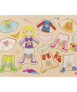 puzzel aankleed pop, goki, aankleden, puzzelen, wonderzolder.nl